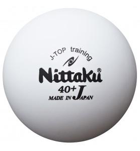 ニッタク(Nittaku) 卓球 ボール 硬式40ミリ 練習球 ジャパントップ トレ球 J-TOP TRAINING (10ダース) NB-1367