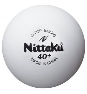 ニッタク(Nittaku) 卓球 ボール 硬式40ミリ 練習球 Cトップトレ球 C TOP TRAINING BALL (50ダース) NB-1467