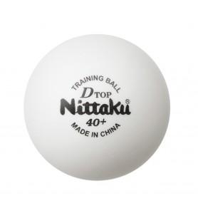 ニッタク(Nittaku) 卓球 ボール 硬式40ミリ 練習球 Dトップトレ球 D-TOP TRAINING BALL (50ダース) NB-1521
