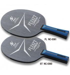 ニッタク(Nittaku) 卓球 ラケット シェークハンド 攻撃用 FL フライアットカーボン FLYATT CARBON NC-0361