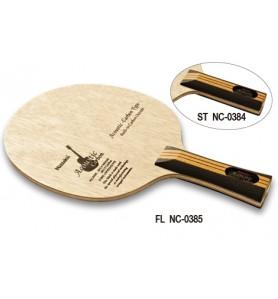 ニッタク(Nittaku) 卓球 ラケット シェークハンド 攻撃用 3DST アコースティックカーボン ACOUSTIC CARBON NC-0384