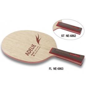 ニッタク(Nittaku) 卓球 ラケット シェークハンド 攻撃用 FL アデリー ADELIE NE-6863