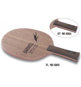 ニッタク(Nittaku) 卓球 ラケット シェークハンド 攻撃用 FL バーウェル BARWELL NE-6865