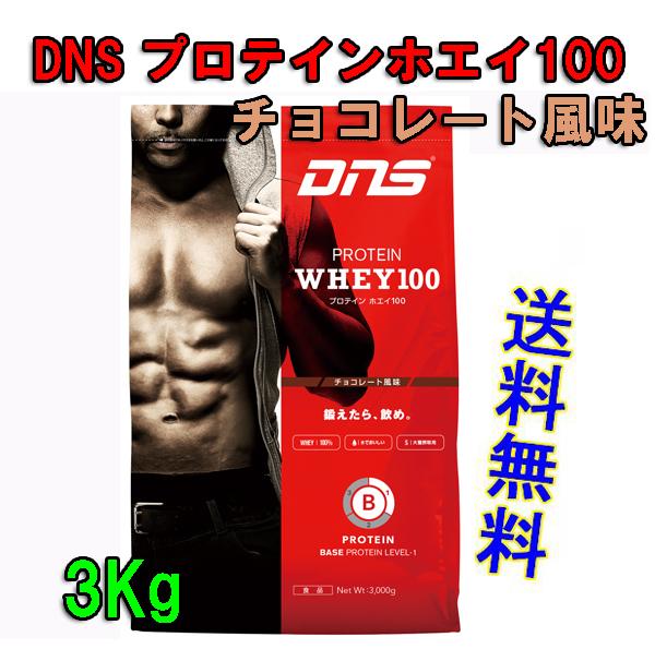 DNSプロテインホエイ100(3kg)チョコレート風味