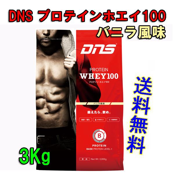 DNSプロテインホエイ100(3kg)バニラ風味