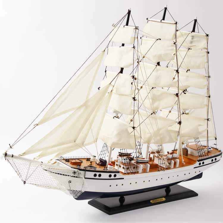 リアルな帆船の模型(DENMARK) ドイツ・Seaclub(シークラブ)社 マリン マリンテイスト ビーチ コースタル 西海岸 ヨーロッパ市場向け製品 日本ではレア