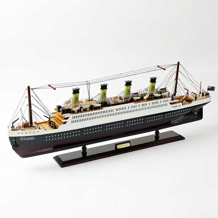 Titanic の模型 ドイツ・Seaclub(シークラブ) マリン マリンテイスト 日本ではレア 船 タイタニック