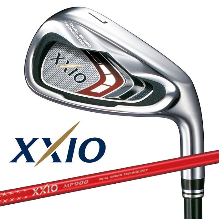【ダンロップ】XXIO9(ゼクシオ ナイン)単品アイアン MP900 カーボンシャフト カラーカスタムレッド (#4、#5、AW、SW)【2016年モデル】【送料無料】【お買得商品】