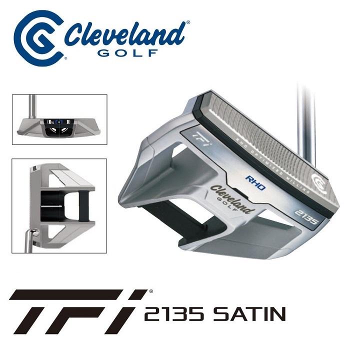 【ダンロップ】CLEVELAND(クリーブランド)TFI2135 SATIN RHO パター【送料無料】【2017年新製品】