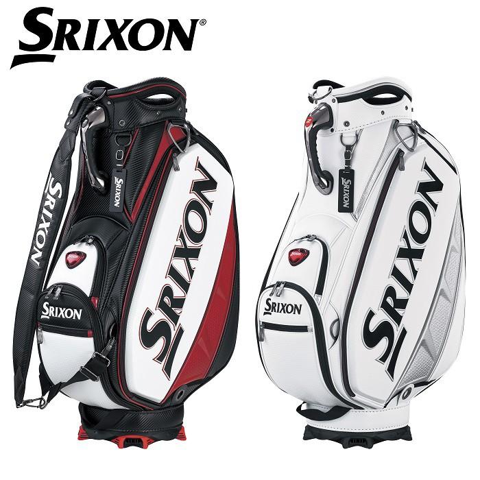 【ダンロップ】SRIXON(スリクソン) キャディバッグ GGC-S143【2018年FW新製品】【ネームプレート刻印サービス】【ツアープロ使用モデル】