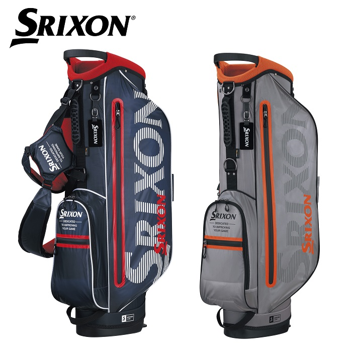 【ダンロップ】SRIXON(スリクソン) スタンドキャディバッグ GGC-S147【2018年FW新製品】【ネームプレート刻印サービス】