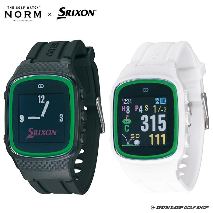 【SRIXONロゴ入りオリジナル】スリクソン ザ・ゴルフウォッチ ノルム GGF-M0001【ゴルフ距離計 GPSナビ】