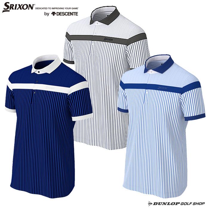 SRIXON(スリクソン)デサント 【COOLIST】裏鹿の子シャツ 【2020年SSモデル】 RGMPJA11