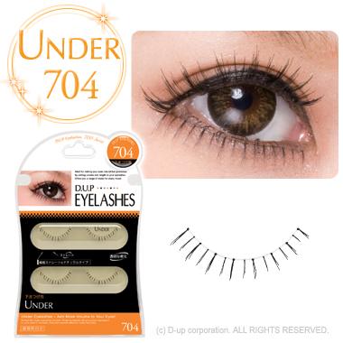D.U.P Eyelash ( eyelashes ) UNDER 704
