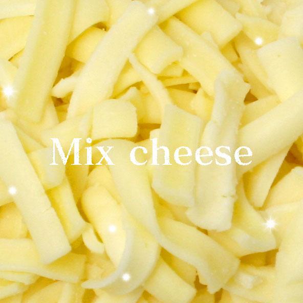 シェフお勧めのミックスチーズピザのトッピングにお勧めサイズの150g 1着でも送料無料 品質検査済 シェフお勧めのミックスチーズ150gモッツァレラとゴーダチーズのシュレッドチーズ パーティー 冷凍 誕生日 記念日