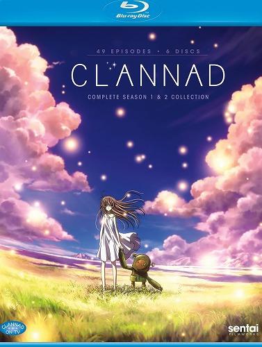 クラナド + クラナド アフターストーリー コンプリートコレクション 北米版ブルーレイ 全49話収録