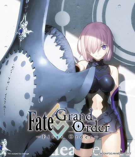 【在庫あり】Fate/Grand Order -First Order- 北米版ブルーレイ フェイト・グランドオーダー