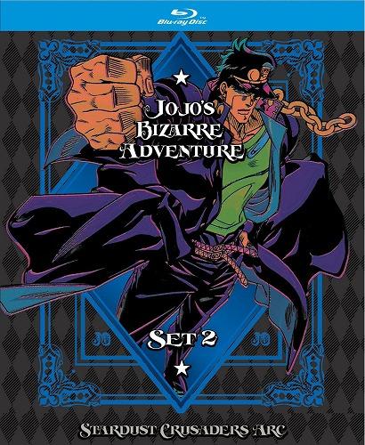 ジョジョの奇妙な冒険 2nd Season 限定版 北米版ブルーレイ 1~24話収録