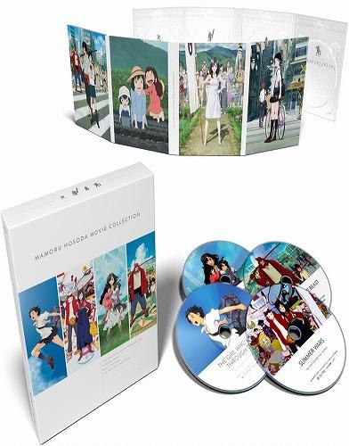 劇場版 細田 守 Collection 全4作 北米版ブルーレイ BD