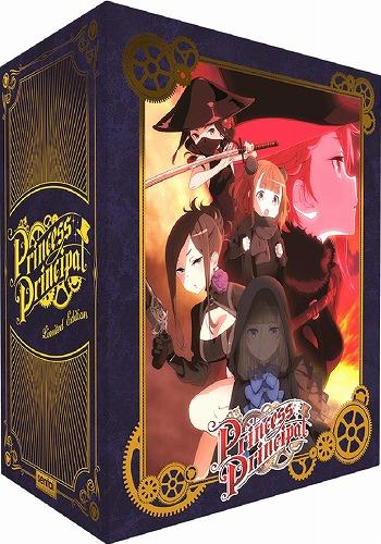 プリンセス・プリンシパル プレミアム版 北米版ブルーレイ 全12話収録 BD