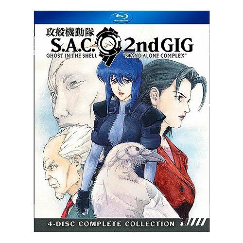 攻殻機動隊 S.A.C. 2nd GIG 北米版ブルーレイ 全26話収録 BD