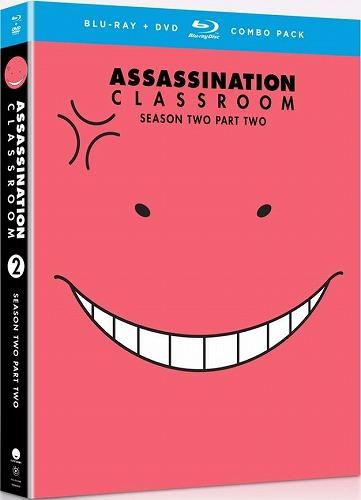 暗殺教室 第2期 Part2 北米版DVD+ブルーレイ 14話~最終25話収録 BD