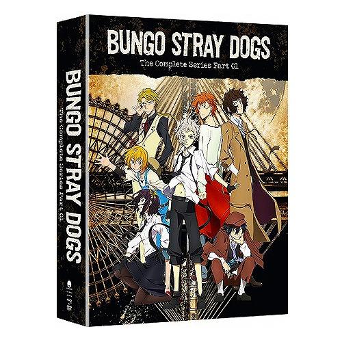 文豪ストレイドッグス 第1期 限定版 北米版DVD+ブルーレイ 全12話収録 BD