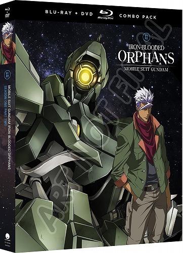 機動戦士ガンダム 鉄血のオルフェンズ 第1期 part2 北米版DVD+ブルーレイ 14~25話収録 BD
