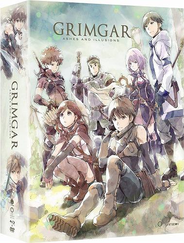 灰と幻想のグリムガル 限定版 北米版DVD+ブルーレイ 全12話収録 BD