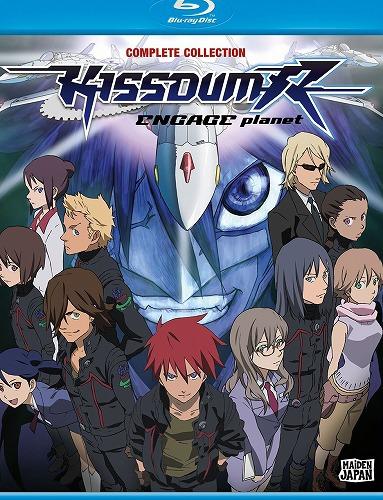 キスダム KISSDUM -ENGAGE planet- 北米版DVD+ブルーレイ 全25話+OVA全4話収録 BD