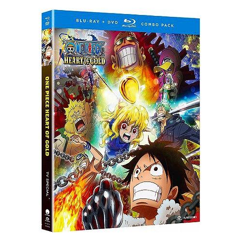 【楽天市場】ONE PIECE ハートオブゴールド 北米版DVD+ブルーレイ