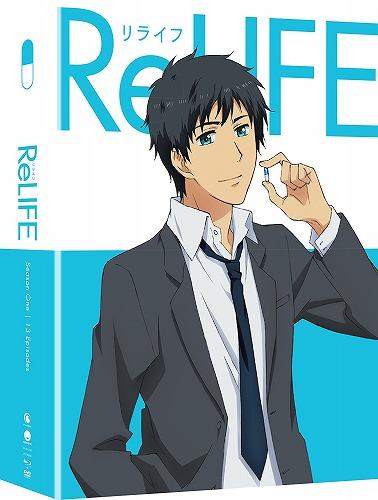 ReLIFE 限定版 北米版DVD+ブルーレイ 全13話収録 リライフ BD