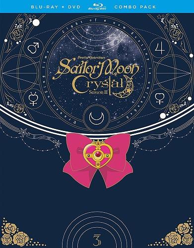 美少女戦士セーラームーンCrystal Set3 北米版DVD+ブルーレイ 27話~最終38話収録 BD