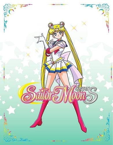 美少女戦士セーラームーンSuperS 限定版 北米版DVD+ブルーレイ 128~146話収録 BD