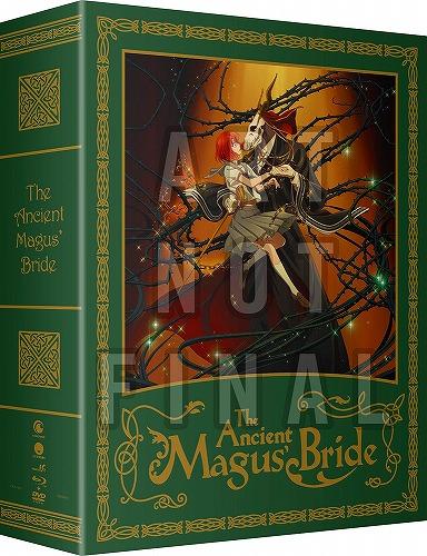 魔法使いの嫁 Part1 限定版 北米版DVD+ブルーレイ 1~12話収録 BD