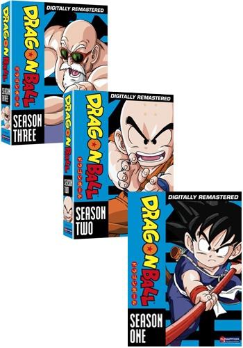 ドラゴンボール BOX全5巻セット■北米版DVD■全153話収録