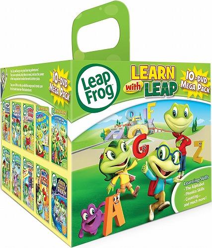 リープフロッグ Leap Frog DVD10枚セット 10-dvd Mega Pack■北米版DVD■フォニックス 知育