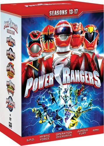 クーポン利用で10%OFF対象【在庫あり】【輸入版】パワーレンジャー:シーズン13-17 / Power Rangers: Seasons 13 -17■北米版DVD■