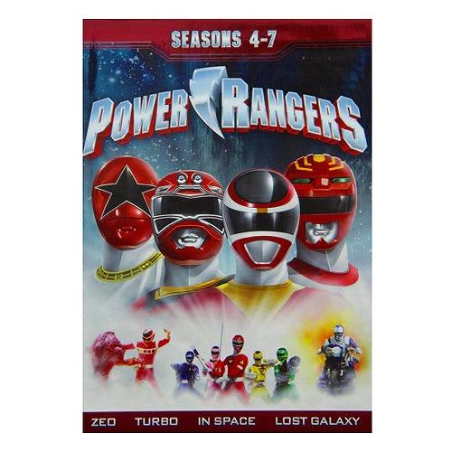 【輸入版】パワーレンジャー:シーズン4-7 / Power Rangers: Seasons 4-7■北米版DVD■