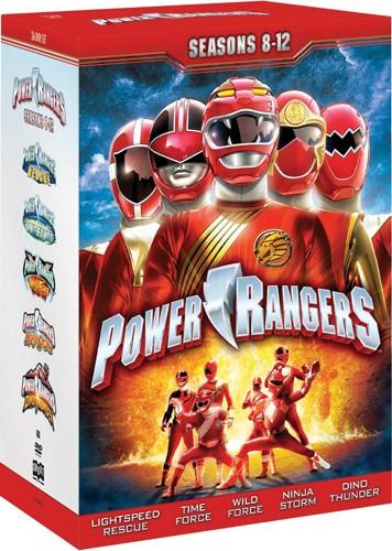 【輸入版】パワーレンジャー:シーズン8-12 / Power Rangers: Seasons 8-12■北米版DVD■