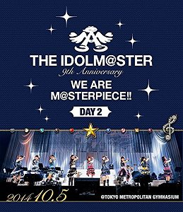 B◇〉Day2 THE IDOLM@STER 9th Blu ray・音楽dxWBeCro