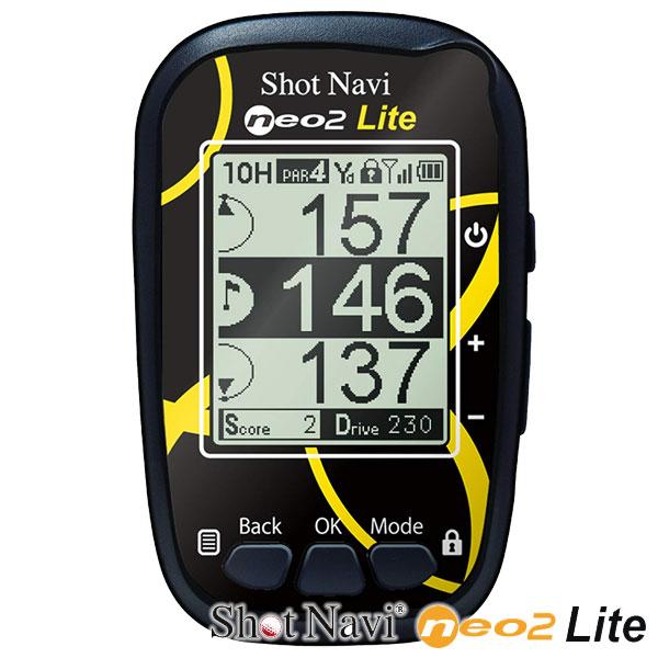 送料無料 ゴルフナビ Shot Navi neo2 Lite ショットナビ ネオ2 ライト GPS 距離測定器