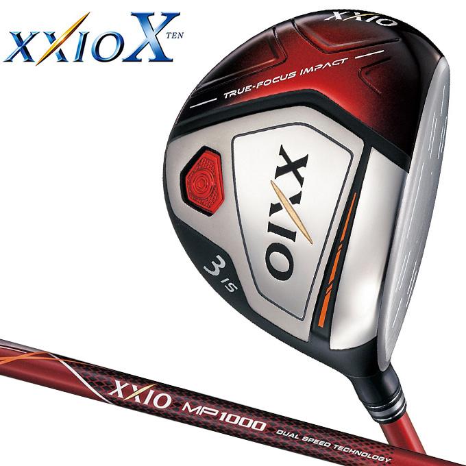 ダンロップ XXIO X(ゼクシオ テン) フェアウェイウッド ゼクシオ MP1000 カーボンシャフト (レッド)