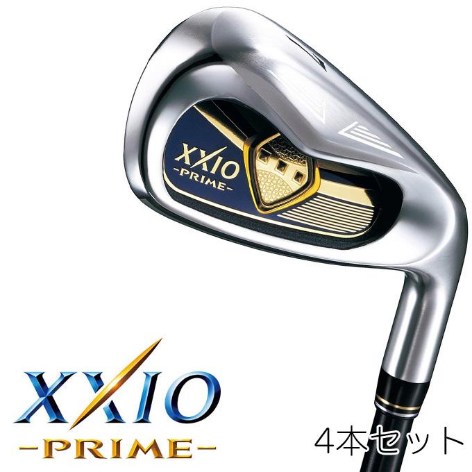 ダンロップ XXIO PRIME ゼクシオ プライム アイアン 4本セット(#7~9、PW) ゼクシオ プライム SP-900 カーボンシャフト ゴルフクラブ