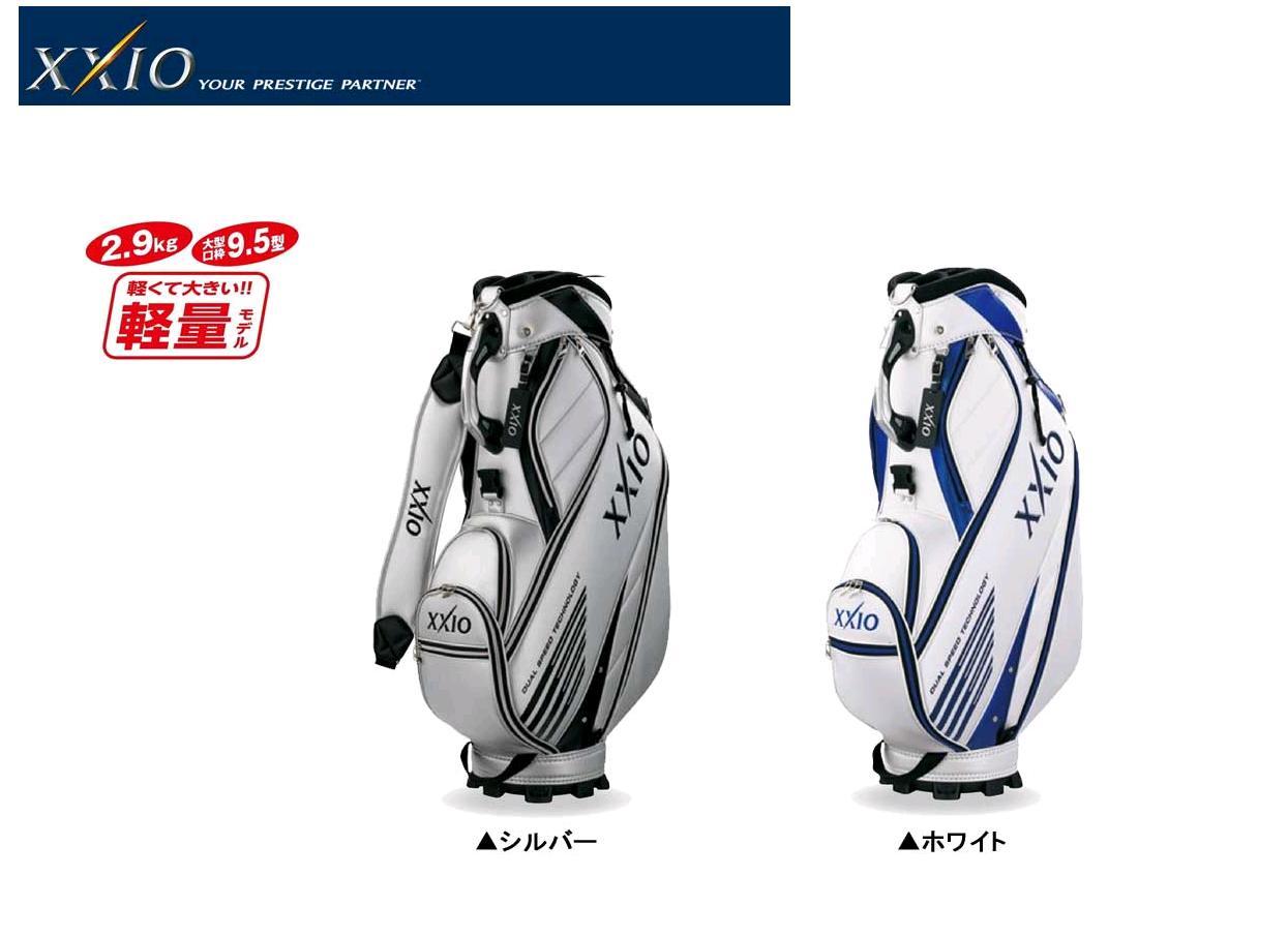 【新品】 ダンロップ ( DUNLOP ) ゼクシオ ( XXIO ) スポーツモデル キャディバッグ GGC-X081 2017年モデル