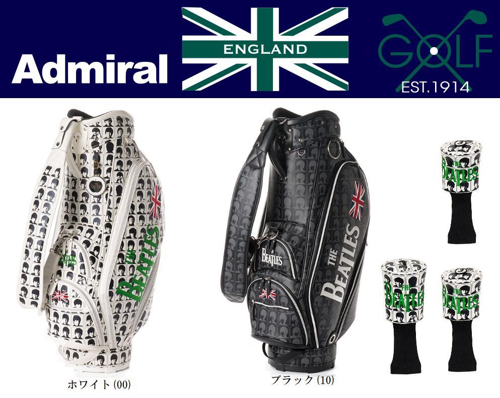 【新品】アドミラル ゴルフ( Admiral Golf ) THE BEATLES FACE CB SET キャディバッグADMG7FC6 2017秋冬モデル 日本正規品