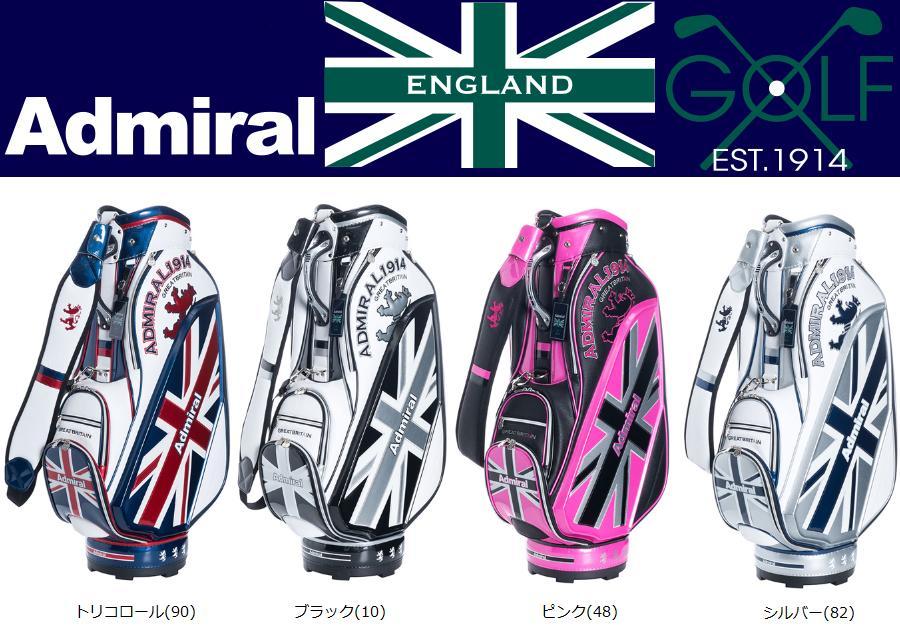 【新品】Admiral Golf アドミラル ゴルフ W GRAPHIC MODEL キャディバッグ ADMG8SC2 2018年春夏モデル 日本正規品