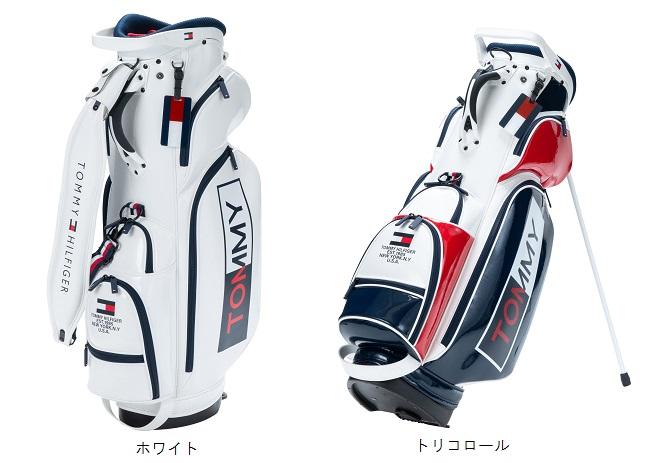 【新品】トミーヒルフィガーゴルフ TOMMY HILFIGER GOLF エナメルスタンドバック THMG9SC32019年モデル 日本正規品