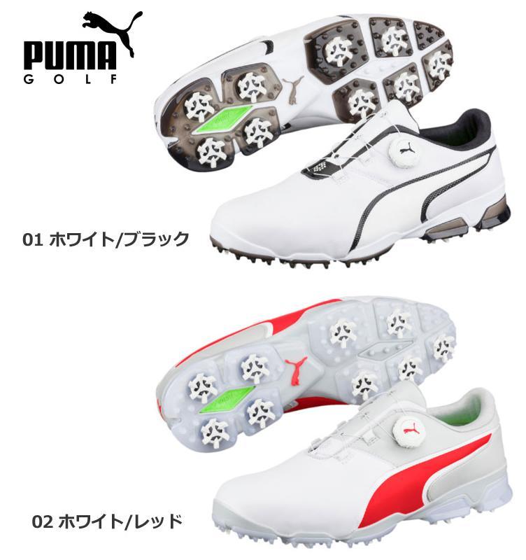 【新品】PUMA プーマ ゴルフ 189413 TT IGNITE DISC イグナイト ディスク ゴルフシューズ メンズ 日本正規品