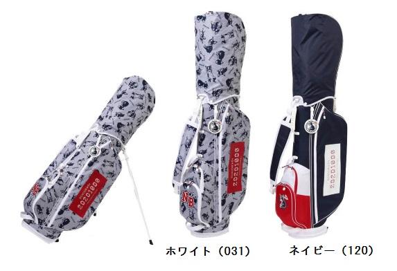 【新品】【レディース】new balance GOLF ニューバランス ゴルフライトウェイト スタンド式キャディバッグ 0980500 日本正規品
